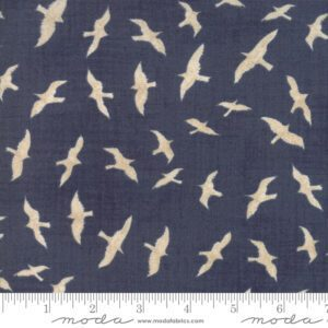 Ahoy Me Hearties 1431-12 Seagulls. Designed for Moda Fabrics by Janet Clare.