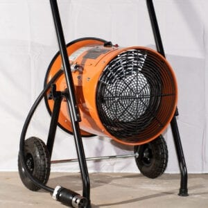 Our 15 kW portable industrial heaters are designed with flexibility in mind.